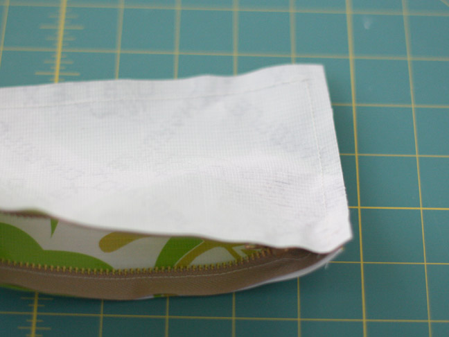 pencil case turned inside out
