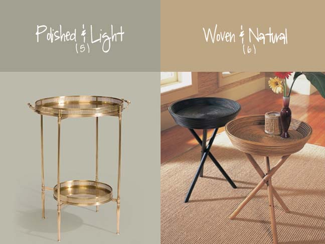 Where Form Meets Function: 6 Tray Tables To Love
