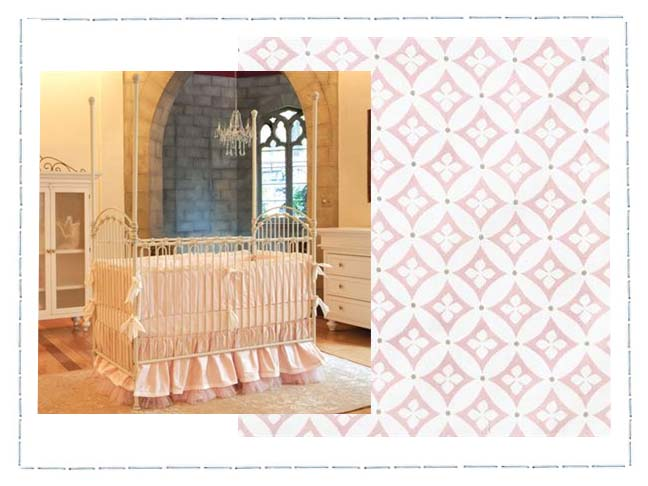 A Beautiful French Nursery For A Beautiful Baby Girl