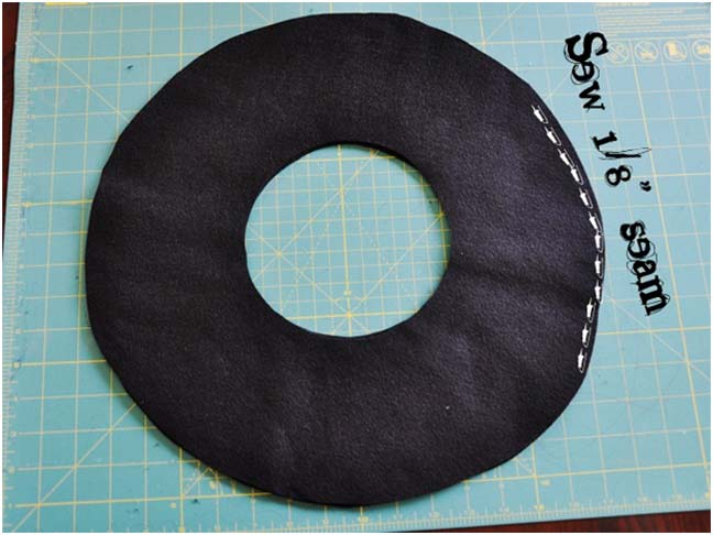 Witch Hat DIY Costume - Step 5