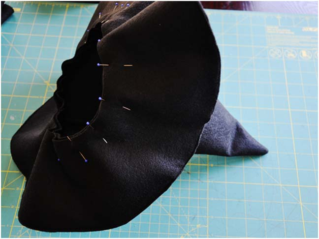 Witch Hat DIY Costume - Step 6