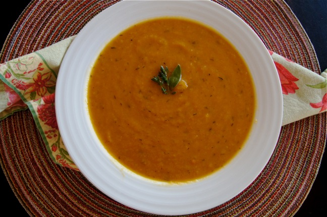 Thanksgiving Recipe - Root Vegetable Pear Soup