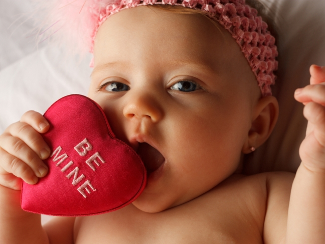 Baby Food For Valentine's Day