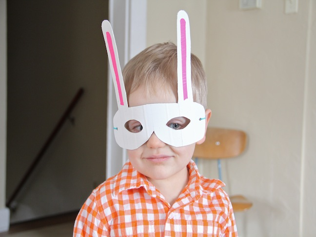 Easter Bunny Mask Craft