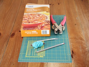 Easter Bunny Mask Craft - Materials
