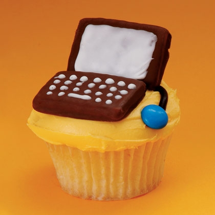 Cyber Dad Cupcake - Father's Day