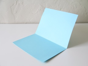 Father's Day Pop-Up Card Craft - Step 3