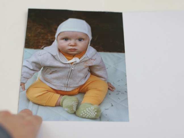 baby in hat photo