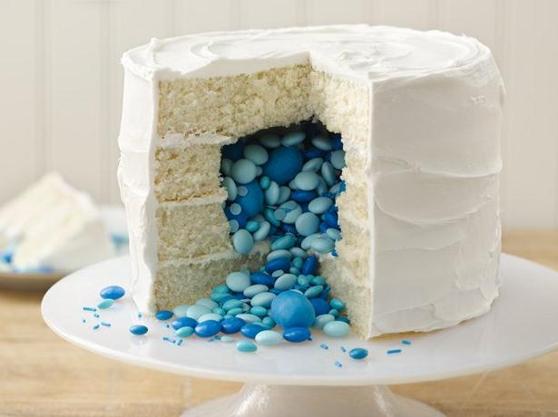 Candy Surprise Cake
