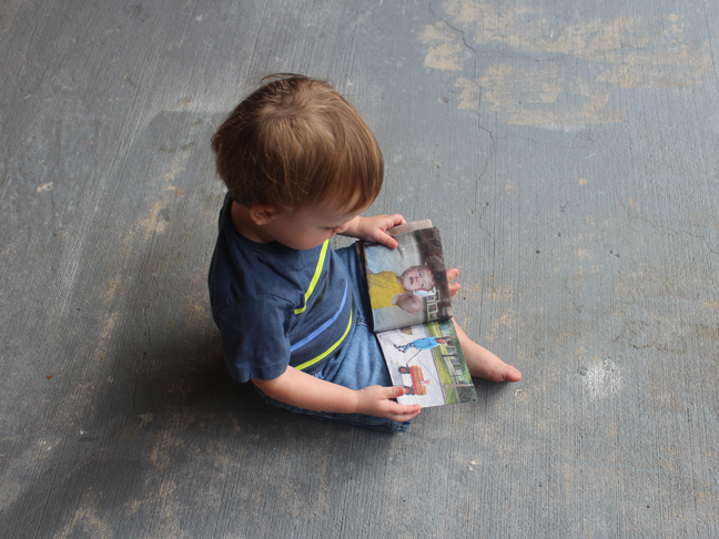 DIY Fabric Picture Book