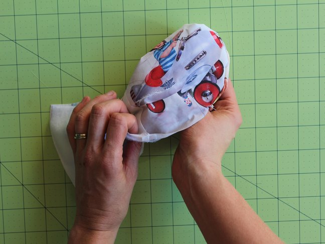 DIY Fabric Picture Book - Step 9
