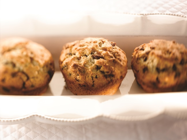 Chocolate Chip Toffee Muffins
