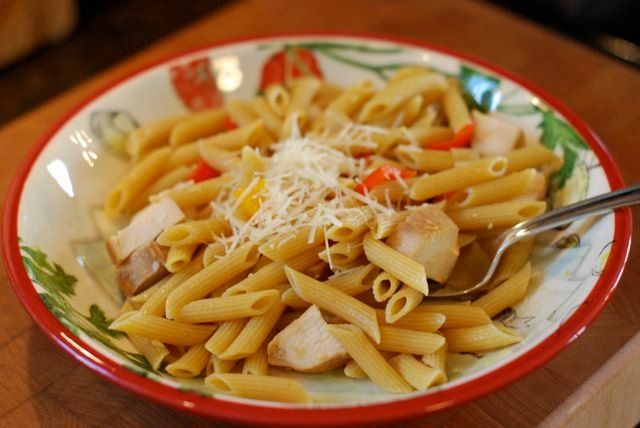 whole wheat pasta with vegetables and chicken recipe final