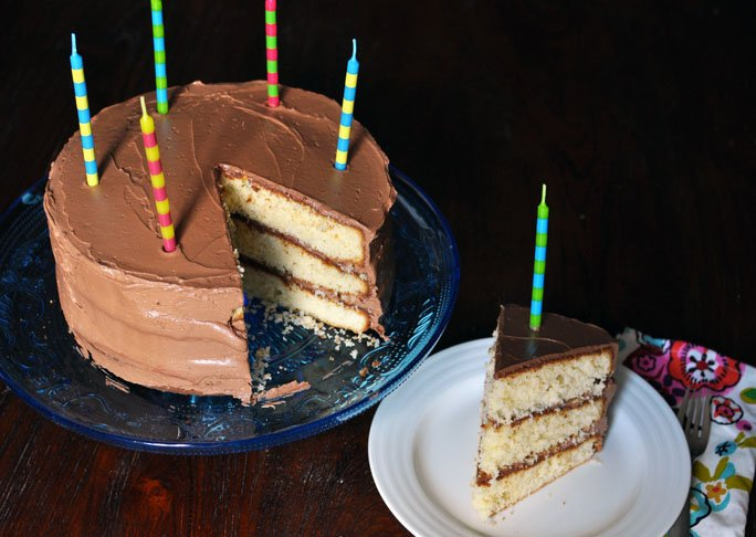 Golden Layer Cake with Chocolate Buttercream recipe final