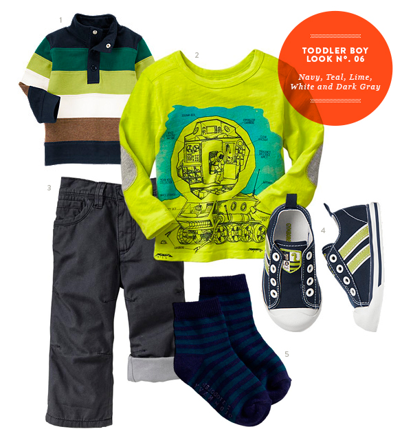 Toddler Boy Outfit by The Kids' Dept. for Momtastic