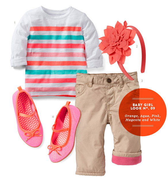 Baby Girl Outfit from The Kids' Dept. for Momtastic.