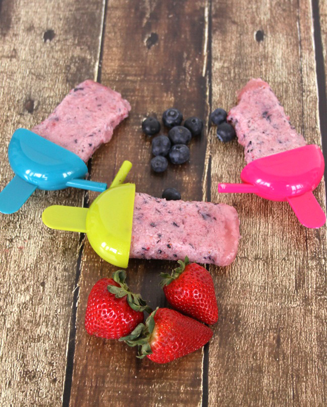 How to Make Berry Perfect Popsicles