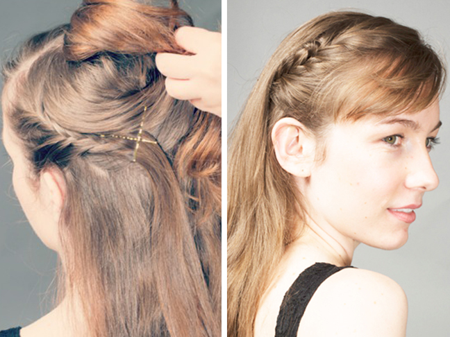 Holiday hair in a hurry