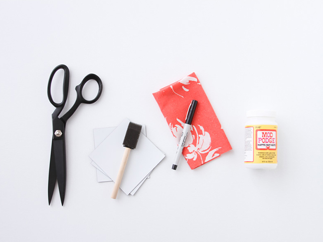 Supplies for Fabric Magnets
