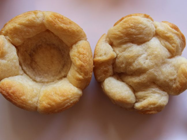 pastry-dough-flower-cup