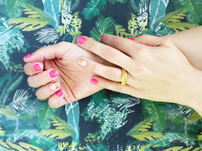 hands-two-tone-mani-gold-nails