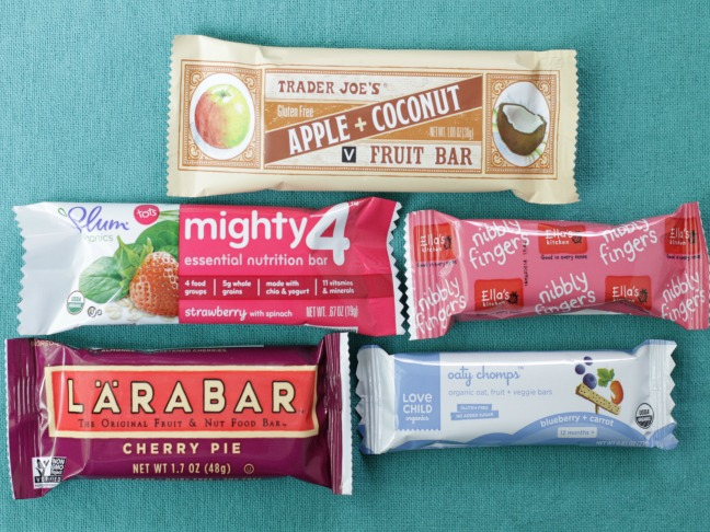 snack bars for toddlers