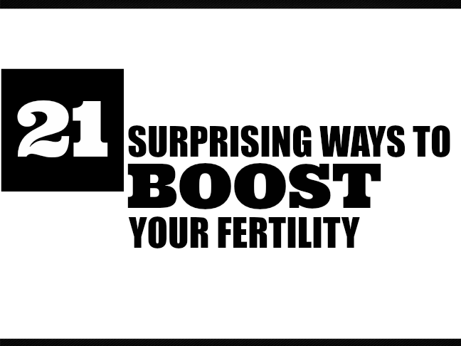 21 Surprising Ways to Boost Your Fertility on @ItsMomtastic by @letmestart   TTC   how to get pregnant   how long does it take to conceive   pregnancy   women's health