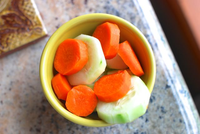 Carrots and Cucumbers