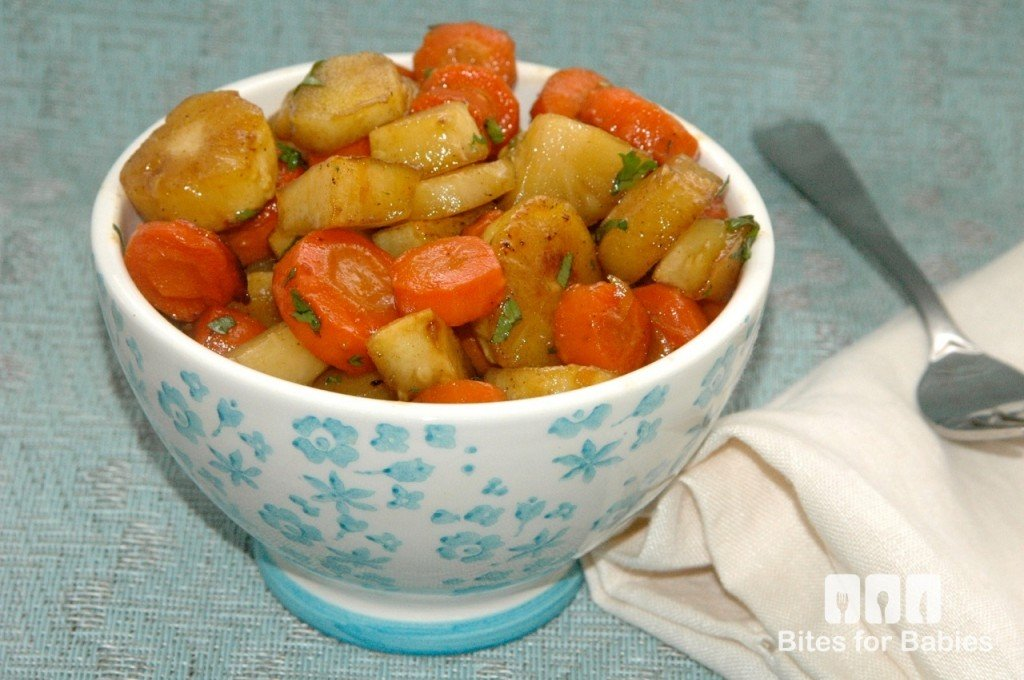 Maple-Roasted Carrots and Parsnips