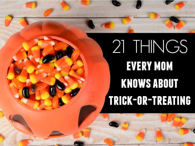 21 things every mom knows about trick or treating   Halloween humor and funny lists for parents on @itsmomtastic by @letmestart