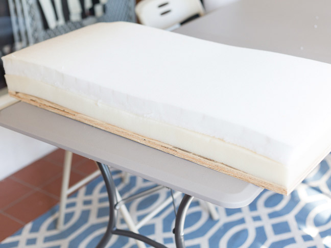double-layer-upholstery-foam-for-bench