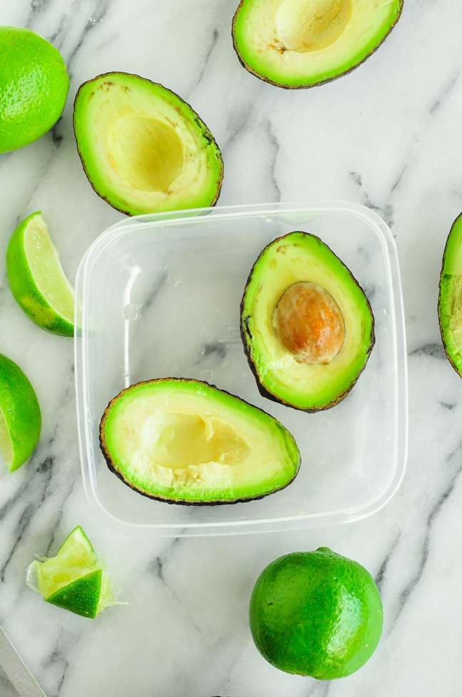 Tips for storing avocados in the refrigerator