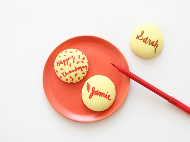 Cookie Place Cards