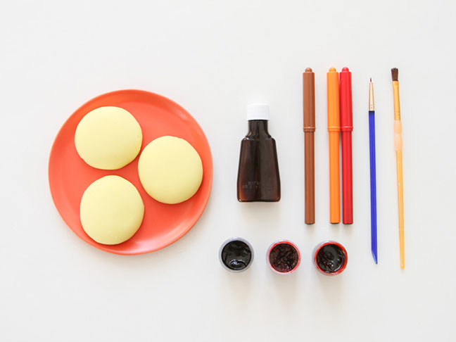 Supplies for Unique Thanksgiving Place Cards