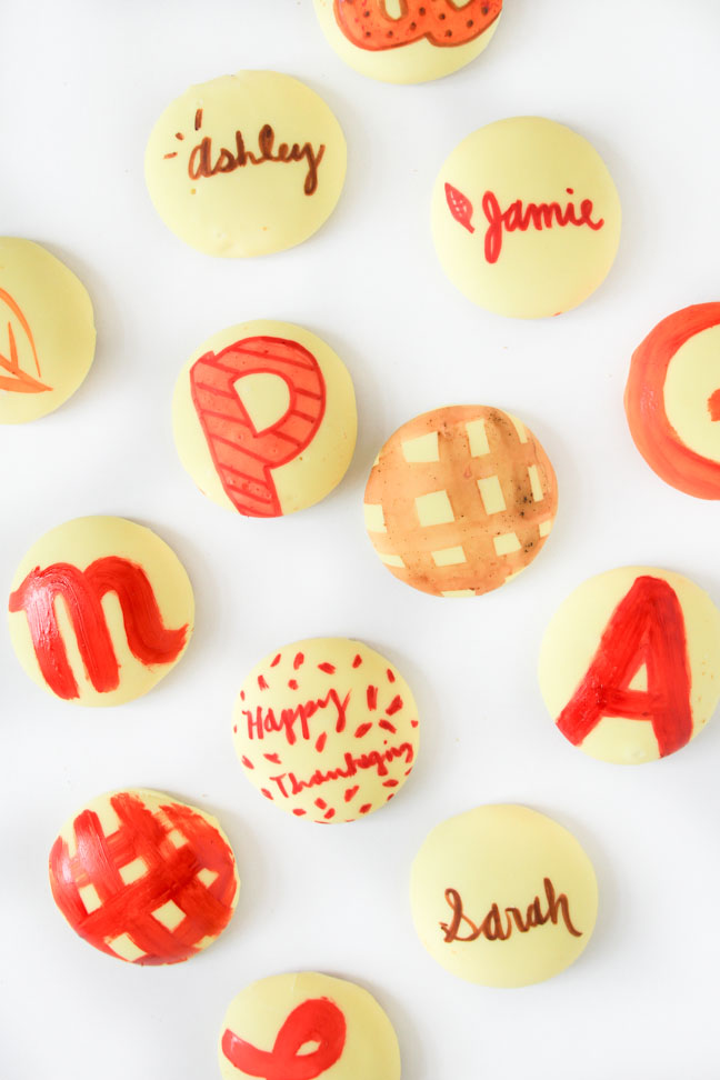 Personalized Hand Painted Cookies