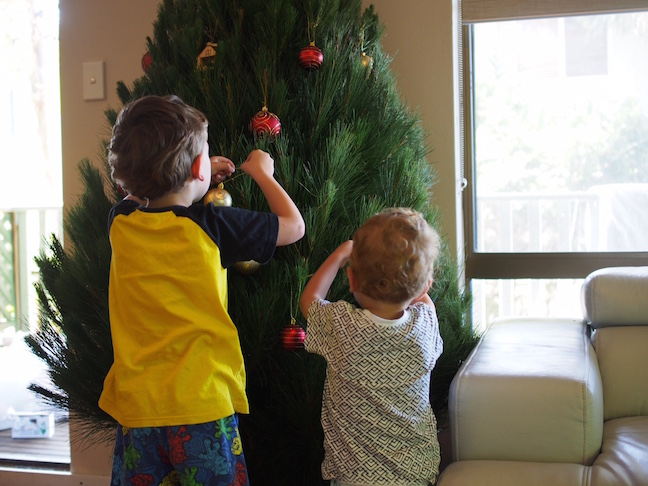 cut and decorate your own tree