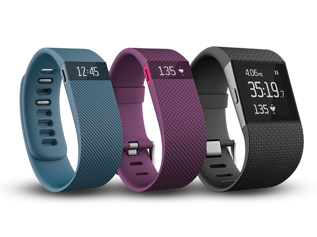 fitbits in an array of colors