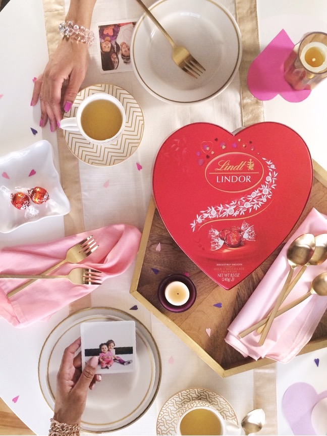 For your sweet sister(s)   4 Ways to style LINDOR Truffles for Valentine's Gifts   Shauna Younge for Momtastic
