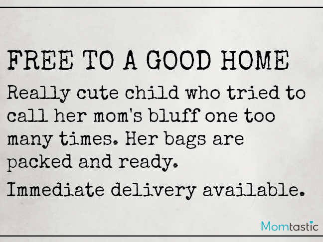 Want Ads Moms Would Love to Make on @ItsMomtastic by @letmestart   Free to a Good Home Funny Want Ads for parents and LOLs for moms