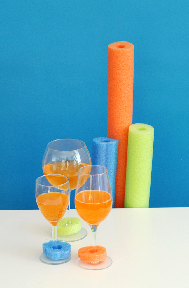 pool noodle drink markers