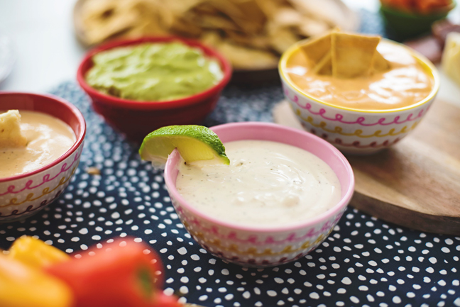 ranch dip with lime