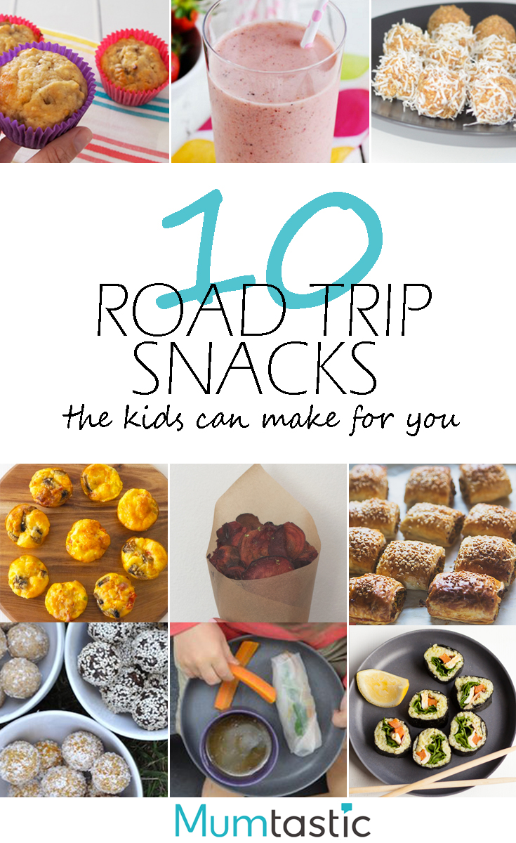 10 Road Trip Snack the Kids Can Make Themselves
