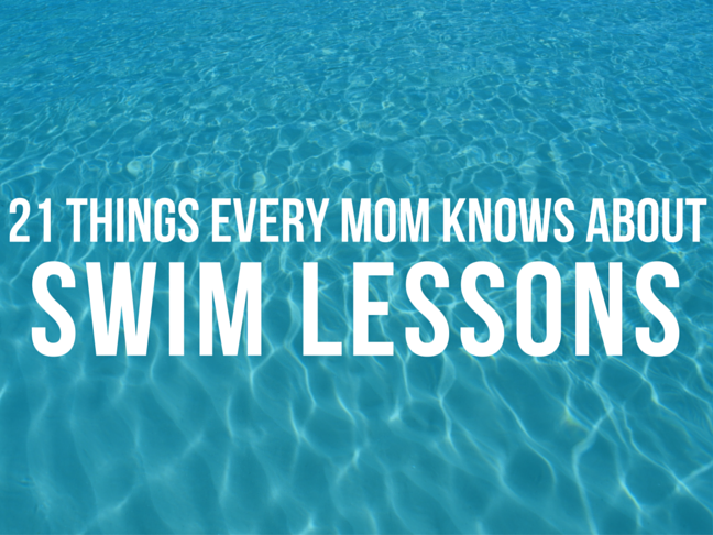 21 Things Every Mom Knows About Swim Lessons on @ItsMomtastic by @letmestart
