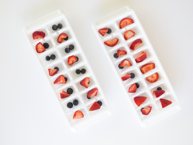 berries-in-ice-cube-trays