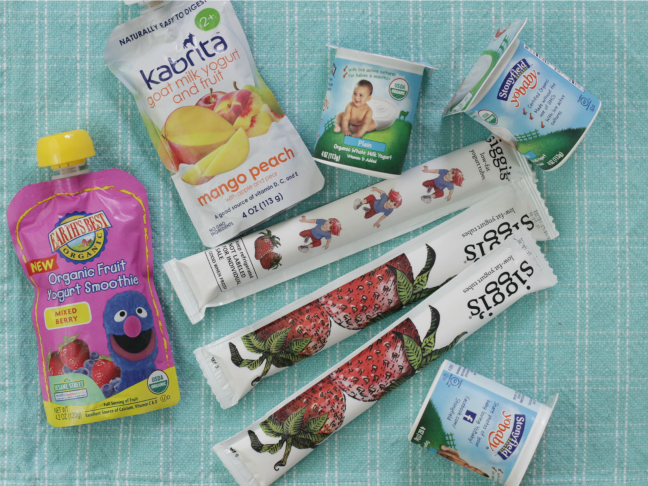 best storebought yogurts for toddlers