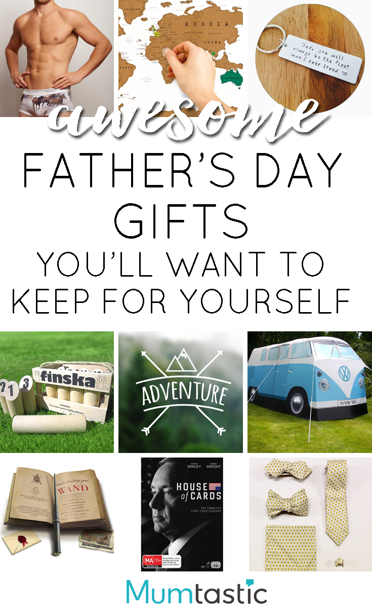 21 Father's Day Gifts You'll Want to Keep for Yourself - no kidding
