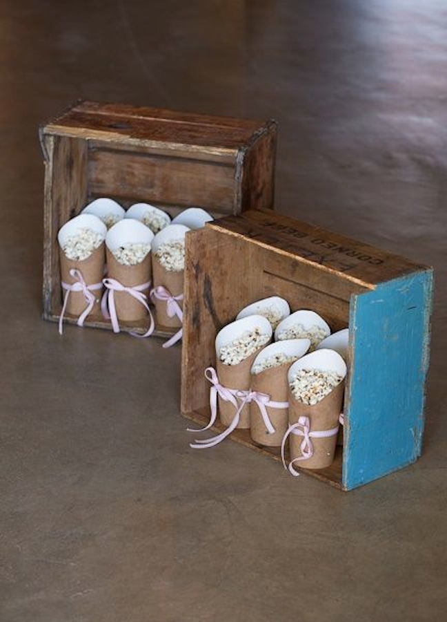 gender-reveal-baby-shower-salty-sandwiches-pink-blue-popcorn-antique-box-bow