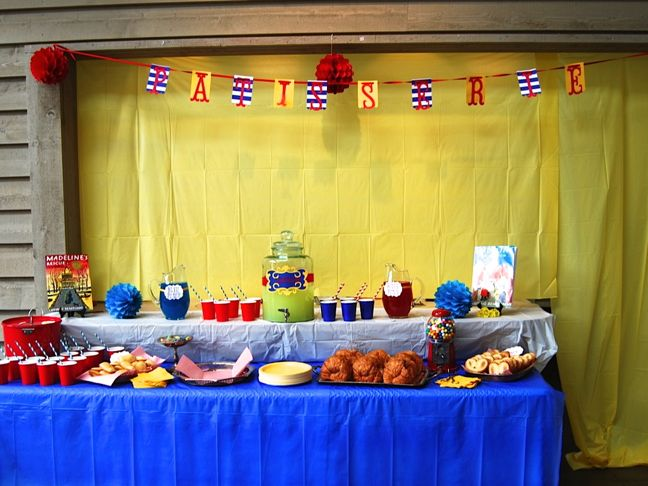 red-yellow-blue-madeline-party-food-drink