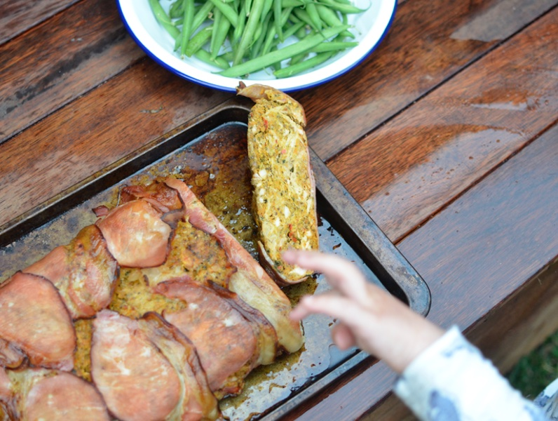 Easy Chicken and Bacon Meatloaf Recipe