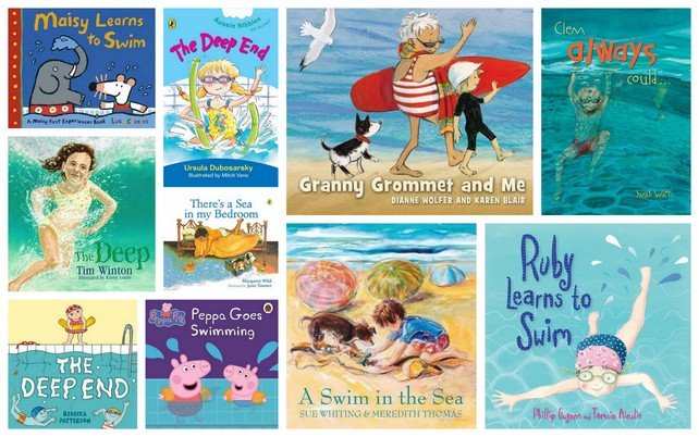 10 Books to Overcome a Fear of Swimming